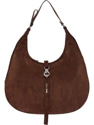 Miu Miu Classic Hobo Bag Brown