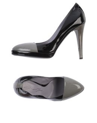 Grey Mer Pumps Black