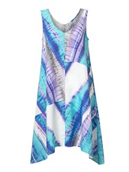 East Linen Abstract Dress Capri
