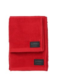 La Perla Nervures Set Of 2 Towels