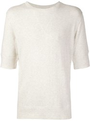 Max 'N Chester Short Sleeve Pullover White