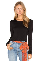 Feel The Piece Lottie Top Black