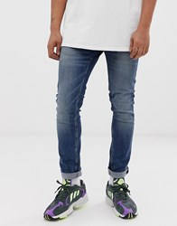 Cheap Monday Tight Skinny Jeans In Indigo Head Blue