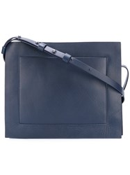 Corto Moltedo 'Rose Pochette' Shoulder Bag Blue