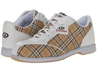 Dexter Ana White Tan Plaid Women's Bowling Shoes