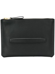 Tom Ford Zip Clutch Bag Black