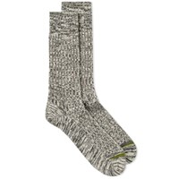 Anonymous Ism Go Hemp Crew Sock Black
