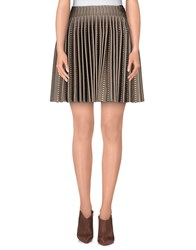 Alaia Alaia Skirts Mini Skirts Women Beige