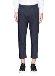 Covert Pleated Front Cotton Poplin Chinos Grey