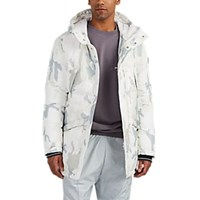 Rossignol Gravity Camouflage Hooded Down Parka White Pat.