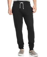 American Rag Men's Big And Tall Solid Knit Jogger Pants Only At Macy's Deep Black