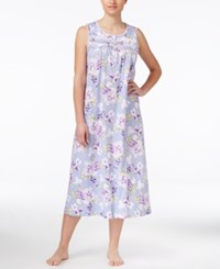 Charter Club Sleeveless Floral Print Nightgown Only At Macy's Floral Bouqets