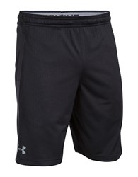 Under Armour Mesh Athletic Shorts Black