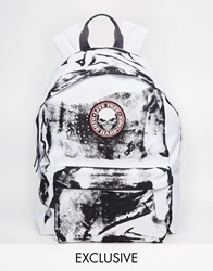Reclaimed Vintage Paint Backpack White
