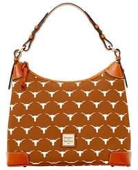 Dooney And Bourke Texas Longhorns Hobo Bag Orange