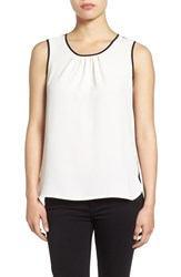 Anne Klein Women's Colorblock Sleeveless Shell