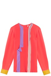 Roksanda Ilincic Poppy Eldin Blouse Orange