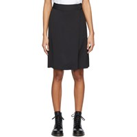 A.P.C. Black Stitch Skirt