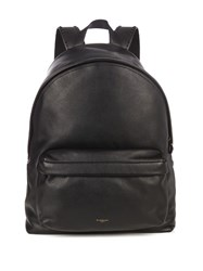 Givenchy Stud Embellished Strap Leather Backpack Black