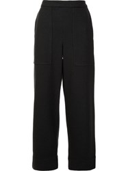 Christophe Lemaire Cropped Trousers Grey