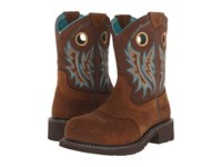 Ariat Fatbaby Cowgirl Composite Toe Fireside Tan Cowboy Boots Brown