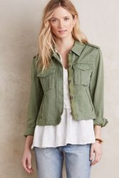 Anthropologie Saguaro Cargo Jacket Green