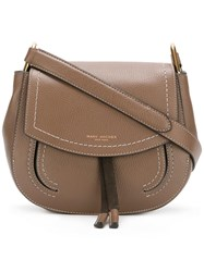 Marc Jacobs Mini Maverick Crossbody Bag Brown