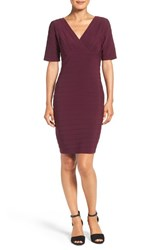 Adrianna Papell Women's Cutout Back Banded Jersey Dress