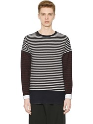 Marni Striped Wool Jersey T Shirt