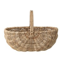Bloomingville Open Oval Rattan Basket