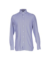 Giampaolo Shirts Blue