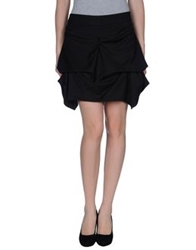 Hope Collection Mini Skirts Black