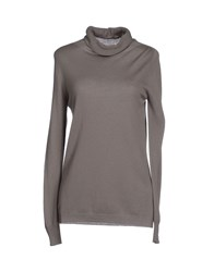 Les Copains Knitwear Turtlenecks Women Grey