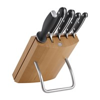 Zwilling Pro Wooden Knife Block 6 Pieces