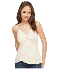 Scully Cantina Charlotte Organic Cotton Top Natural Women's Clothing Beige