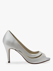 Rainbow Club Elosia Open Toe Court Shoes Ivory