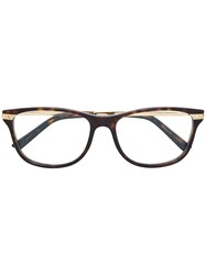 Cartier Tortoiseshell Glasses Brown