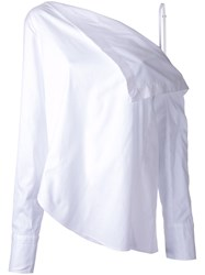 Dion Lee Axis Blouse White