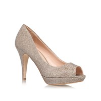 Miss Kg Georgia High Heel Court Shoes Grey