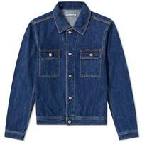 Our Legacy Mono Denim Jacket Blue