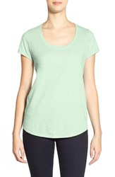 Women's Eileen Fisher Organic Cotton Scoop Neck Tee Green Mint