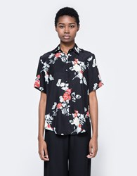 Matin Oversized Collared Shirt Floral