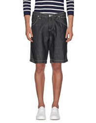 Gazzarrini Denim Bermudas Blue