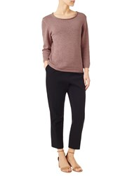 Precis Petite Donna Tape Yarn Jumper Mid Neutral