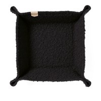 Maple Casentino Wool Desk Tray Black