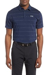 Under Armour Men's 'Playoff' Short Sleeve Polo Academy Graphite Steel