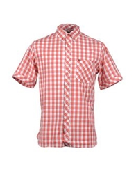 Element Short Sleeve Shirts Red