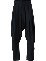 Henrik Vibskov 'Ants' Drop Crotch Trousers Black
