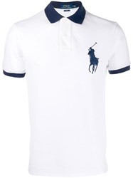 Polo Ralph Lauren Contrasting Details Shirt White