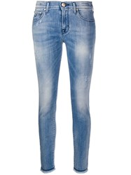 Jacob Cohen Kimberley Low Rise Skinny Jeans Blue
